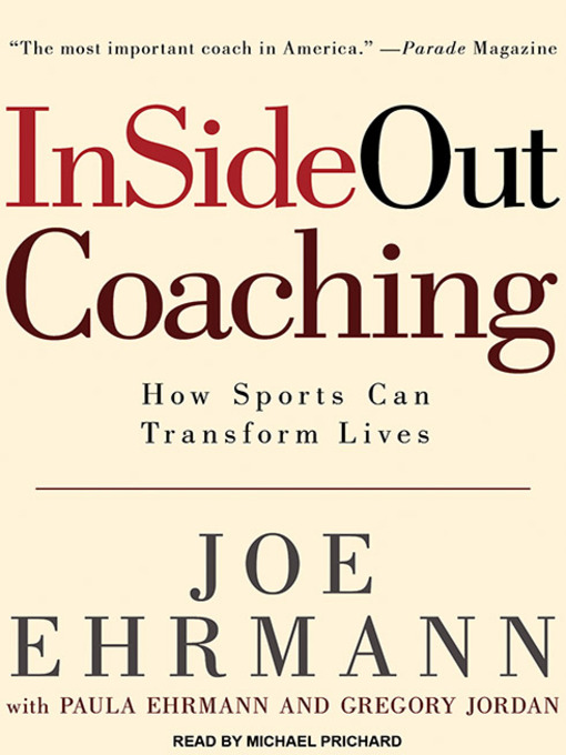 Title details for InSideOut Coaching by Joe Ehrmann - Available
